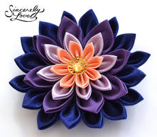 Opulent Dusk Kanzashi by SincerelyLove