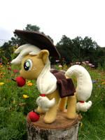 Applejack plushie by CubeForest