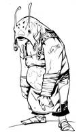 L'homme esturgeon by LordMishkin