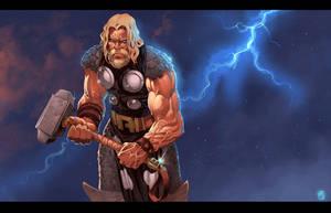 Thor by LordMishkin