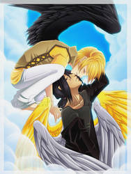 Angel Kisses Sweet Memories by BananAdopt