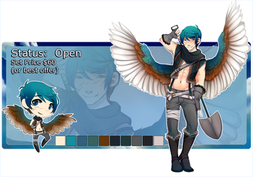 Kingfisher Adopt: SOLD!!! by BananAdopt