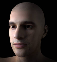 Digital Portrait Custom: Murray! by VJRavenlight