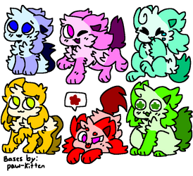 Super Cheap Adopts! (3/6 OPEN! 5 Each!) by Crystal-Kawaii