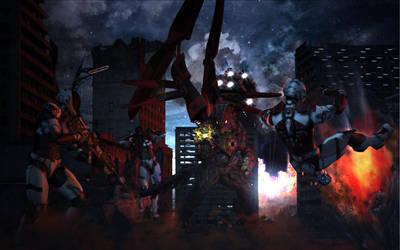 The Battle Has Begun by mestophales