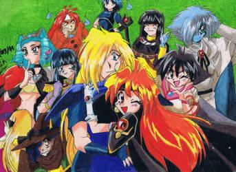 Slayers 4 by HitokiriSakura2012