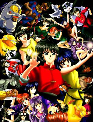 Ranma Collage by HitokiriSakura2012
