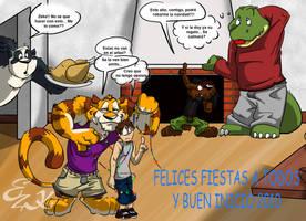 Fiestas de fin de 2009 by LeoZeke