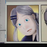 Crying Sakura by inkcooler