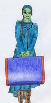 Schooldress Elphie by Alistanniel