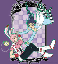 Falling into Wonderland by klawzie