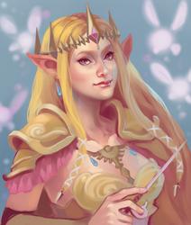 Zelda Hyrule Warriors by Ayichii