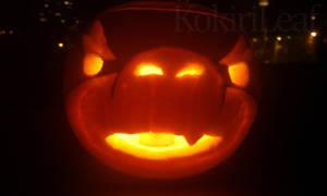 Bowser Jr Pumpkin2 - 2010 by Liefesa