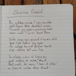Ocarina Retold: An early snippet by Liefesa