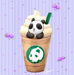 Coffee Panda by apanda54