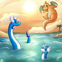Dragons by apanda54