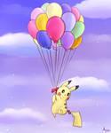 Too Many Balloons by apanda54