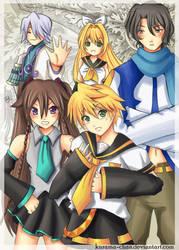 --Pandora Hearts - Vocaloid-- by Kurama-chan