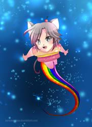 --Gijinka Project: Nyan Cat -- by Kurama-chan
