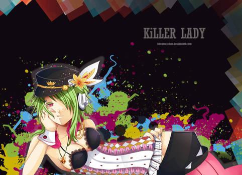 -- Gumi: Killer lady -- by Kurama-chan