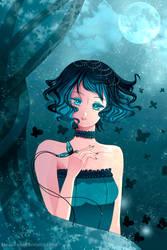-- OC trade: Kurochou -- by Kurama-chan