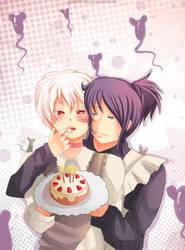 -- Happy Birthday Shion -- by Kurama-chan