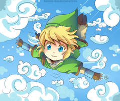 -- Link Skyward Sword Chibi -- by Kurama-chan