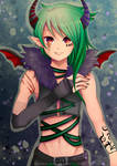 -- Commission for xxxAshexxx -- by Kurama-chan