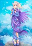 -- Commission: Talia Vaillencor -- by Kurama-chan