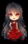 -- Chibi commission for MYSTERYxGIRL -- by Kurama-chan