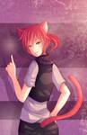 -- Commission for Maudado : Cat boy -- by Kurama-chan