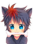 -- Commission for Heyitsrich: Zorua boy -- by Kurama-chan
