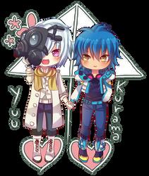 -- Collab: Crystaline Blue ID -- by Kurama-chan
