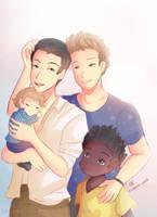 -- Feliko Family -- by Kurama-chan