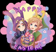-- Zelda : Happy Easter -- by Kurama-chan