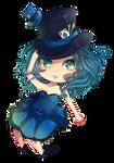 -- Chibi Commission for aurenbunni -- by Kurama-chan