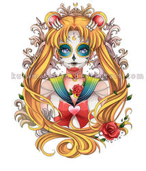-- Sailor Moon Tattoo Commission -- by Kurama-chan