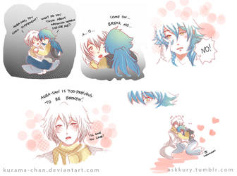 -- DMMD: Clear and Sly Blue -- by Kurama-chan