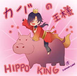 -- DMMD : Hippo king -- by Kurama-chan