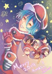 -- Merry DMMD Xmas 2014 -- by Kurama-chan
