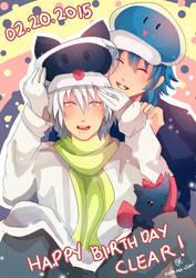 -- DMMD: Happy Birthday Clear 2015 ! -- by Kurama-chan