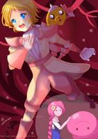 -- Adventure Time : Bonnie and Neddy -- by Kurama-chan