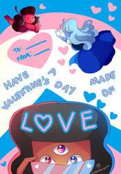-- Steven Universe : Valentine's Day Card -- by Kurama-chan