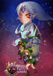 -- Nintendo 64 Art Tribute : Majora's Mask -- by Kurama-chan