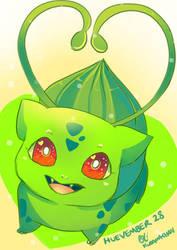 -- Huevember Day 28 : Bulbasaur -- by Kurama-chan