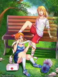 -- [Commission] Love Formula: Sports Day -- by Kurama-chan