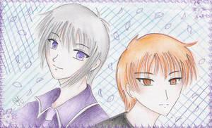 Fruit Basket: Yuki and Kyo by Kurama-chan