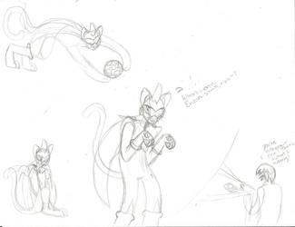 .:Neko ProtoMan.EXE 2 -Doodles Edition- :. by Feral101