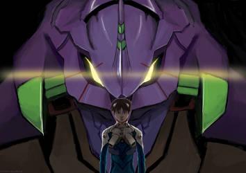 NGE: Ikari Shinji by fengsong