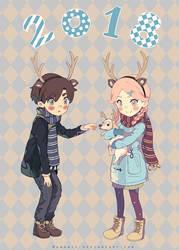.:Happy New Year:. by Nanahii